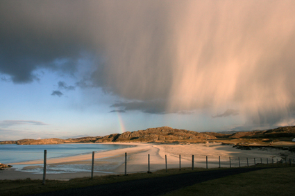 Wind, waves and eroding heritage on the Western Isles