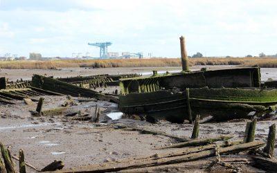 The Newshot Ship Graveyard Part 2: A very special vessel