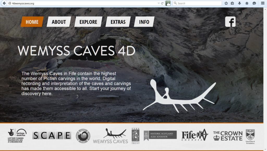 Go to the Wemyss Caves 4D website to see what's been done already