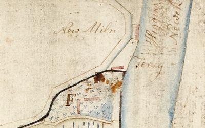 A medieval Royal dockyard at the Clackmannanshire Bridge?