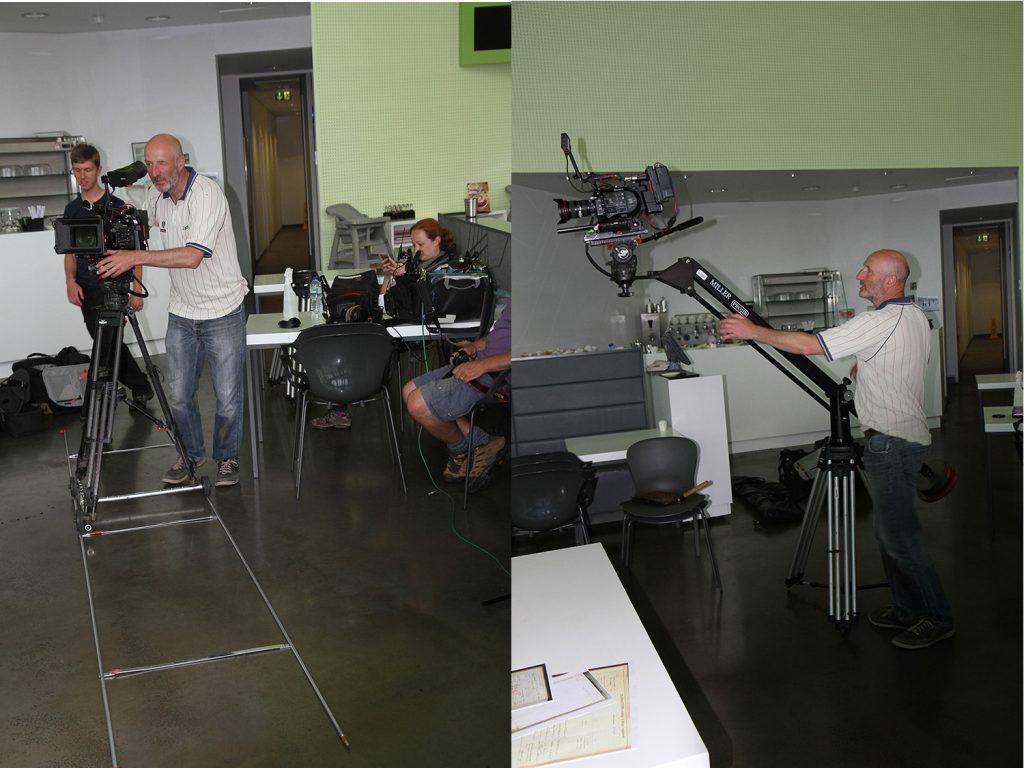 Filming indoors