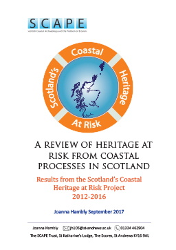 A review of Scotland's coastal heritage at risk