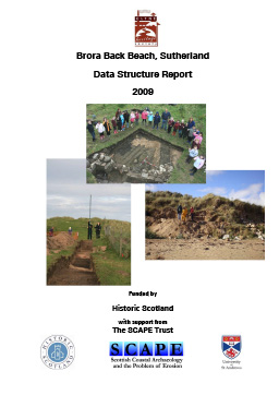 Brora data structure report 2009