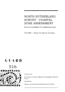 North Sutherland volume 1