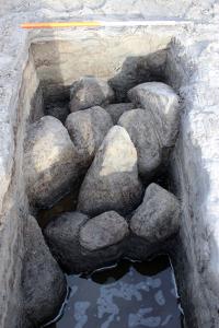 Buried wall